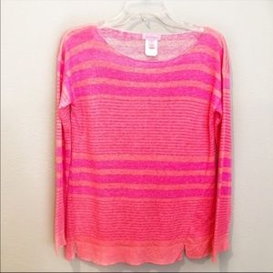 Lilly Pulitzer Linen striped sweater XS